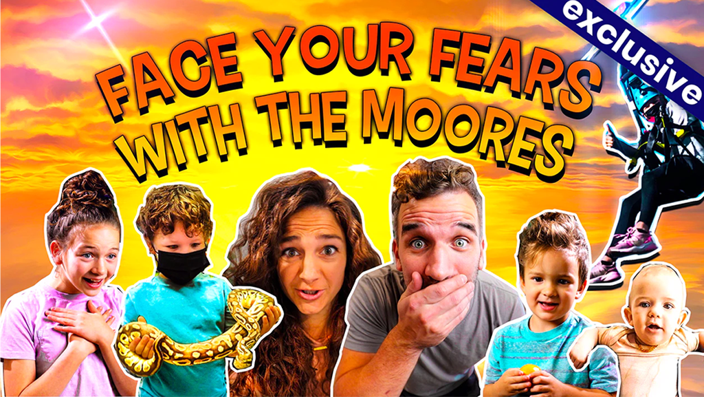 Face Your Fears With The Moores - on SMILE